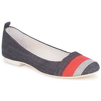 Pantofi Femei Balerin și Balerini cu curea Marithé & Francois Girbaud BRUMES Denim