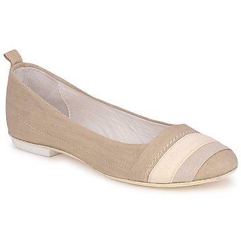 Pantofi Femei Balerin și Balerini cu curea Marithé & Francois Girbaud BRUMES Bej