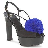 Pantofi Femei Sandale și Sandale cu talpă  joasă Moschino Cheap & CHIC CA1608  ooc-negru-albastru / Klein