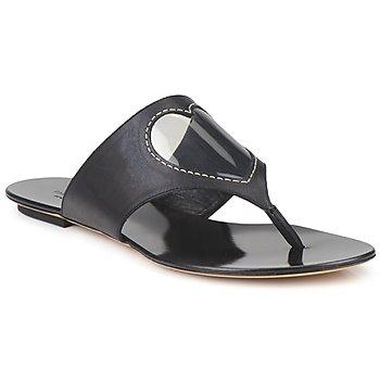 Pantofi Femei  Flip-Flops Moschino Cheap & CHIC CALOTROPIS Negru