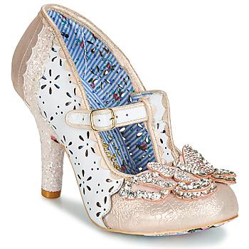 Pantofi Femei Pantofi cu toc Irregular Choice PAPILLON Alb