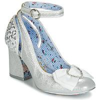Încăltăminte Femei Pantofi cu toc Irregular Choice DEITY Argintiu