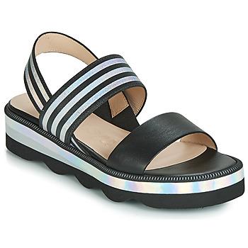 Pantofi Femei Sandale și Sandale cu talpă  joasă Wonders BOLETTI Negru