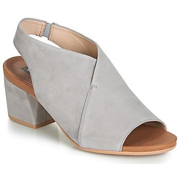 Pantofi Femei Sandale și Sandale cu talpă  joasă Wonders FILETI Taupe
