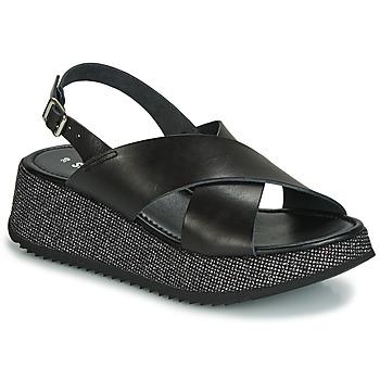 Pantofi Femei Sandale și Sandale cu talpă  joasă Sweet Lemon LILAR Negru