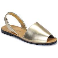 Pantofi Femei Sandale și Sandale cu talpă  joasă So Size LOJA Auriu