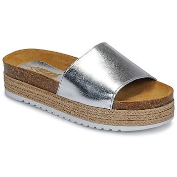 Pantofi Femei Papuci de vară So Size JITRUNE Argintiu