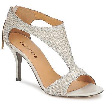 Încăltăminte Femei Sandale și Sandale cu talpă  joasă Premiata 2834 LUCE Crem