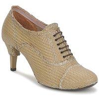 Pantofi Femei Botine Premiata 2851 LUCE Ocra
