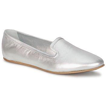 Pantofi Femei Mocasini Rochas RO18101 Silver