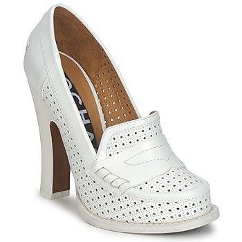 Pantofi Femei Pantofi cu toc Rochas RO18031 Alb