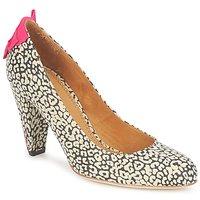 Încăltăminte Femei Pantofi cu toc Maloles CHRISTIA Negru / Alb / Roz
