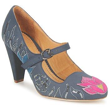 Încăltăminte Femei Pantofi cu toc Maloles CLOTHILDE Gri / Roz