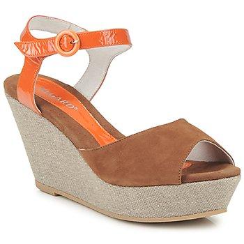 Pantofi Femei Sandale și Sandale cu talpă  joasă Regard RAFATI Camel