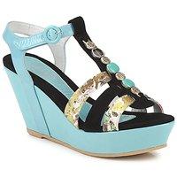 Pantofi Femei Sandale  Regard RAFAVO Negru / Albastru