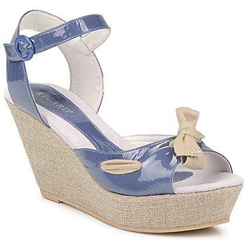 Încăltăminte Femei Sandale și Sandale cu talpă  joasă Regard RAGE Albastru