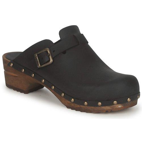 Pantofi Femei Saboti Sanita KRISTEL OPEN Negru