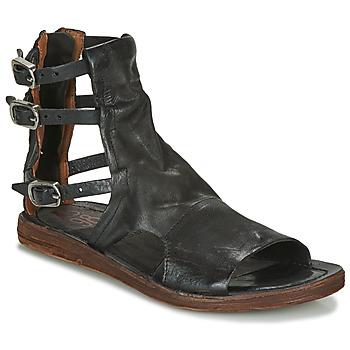 Pantofi Femei Sandale și Sandale cu talpă  joasă Airstep / A.S.98 RAMOS BRIDES Negru