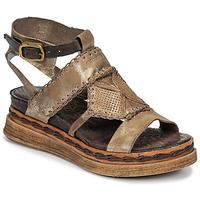 Pantofi Femei Sandale și Sandale cu talpă  joasă Airstep / A.S.98 LAGOS Auriu