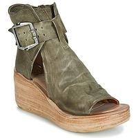 Pantofi Femei Sandale și Sandale cu talpă  joasă Airstep / A.S.98 NOA BUCKLE Kaki