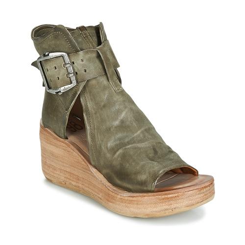 Pantofi Femei Sandale  Airstep / A.S.98 NOA BUCKLE Kaki