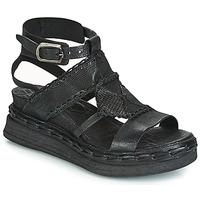 Pantofi Femei Sandale și Sandale cu talpă  joasă Airstep / A.S.98 LAGOS Negru