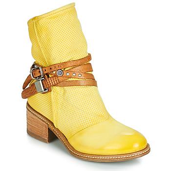 Pantofi Femei Ghete Airstep / A.S.98 WINNIE STRAP Galben