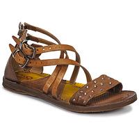 Pantofi Femei Sandale și Sandale cu talpă  joasă Airstep / A.S.98 RAMOS CLOU Camel