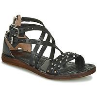 Pantofi Femei Sandale și Sandale cu talpă  joasă Airstep / A.S.98 RAMOS CLOU Negru