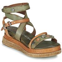 Încăltăminte Femei Sandale și Sandale cu talpă  joasă Airstep / A.S.98 LAGOS Kaki