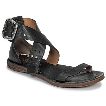 Pantofi Femei Sandale și Sandale cu talpă  joasă Airstep / A.S.98 RAMOS CROISE Negru