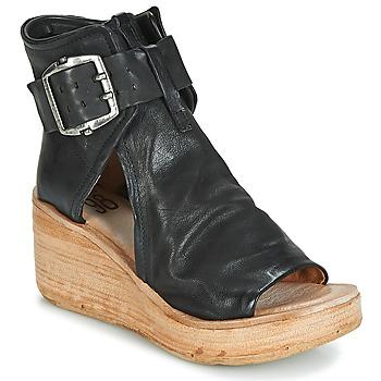 Pantofi Femei Sandale și Sandale cu talpă  joasă Airstep / A.S.98 NOA BUCKLE Negru