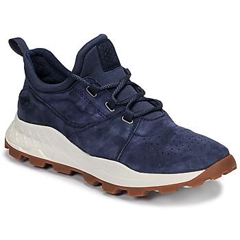 Pantofi Bărbați Pantofi sport Casual Timberland BROOKLYN LACE OXFORD Albastru
