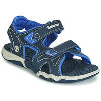 Pantofi Copii Sandale și Sandale cu talpă  joasă Timberland ADVENTURE SEEKER 2 STRAP Albastru