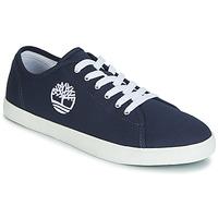 Încăltăminte Copii Pantofi sport Casual Timberland NEWPORT BAY CANVAS OX Albastru