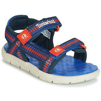 Pantofi Copii Sandale  Timberland PERKINS ROW WEBBING SNDL Albastru