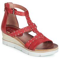 Pantofi Femei Sandale și Sandale cu talpă  joasă Mjus TAPASITA CLOU Roșu