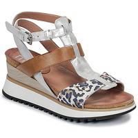 Pantofi Femei Sandale și Sandale cu talpă  joasă Mjus TARDE Camel / Leo
