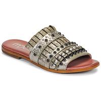 Pantofi Femei Papuci de vară Mjus CHAT MULE Kaki / Metal