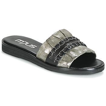 Pantofi Femei Papuci de vară Mjus TEMPLE Kaki / Negru