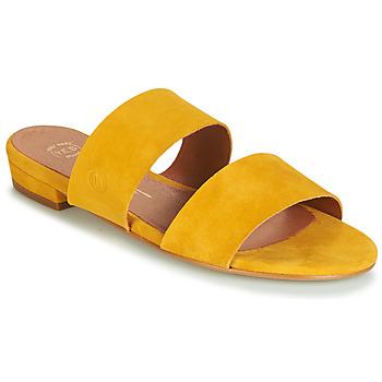 Pantofi Femei Papuci de vară Betty London JISTINE Galben