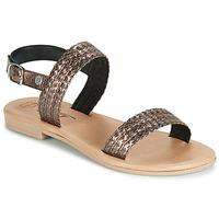 Pantofi Femei Sandale și Sandale cu talpă  joasă Betty London JADALETTE Bronz