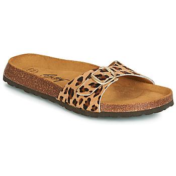 Pantofi Femei Papuci de vară Betty London JIKOTI Maro