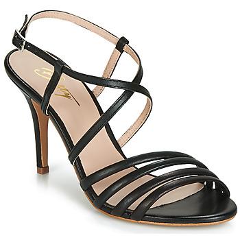 Pantofi Femei Sandale și Sandale cu talpă  joasă Betty London JIKOTIPE Negru