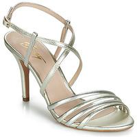 Încăltăminte Femei Sandale și Sandale cu talpă  joasă Betty London JIKOTIPE Auriu / Argintiu