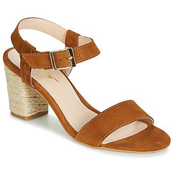 Pantofi Femei Sandale  Betty London JIKOTIFE Camel