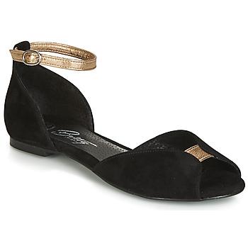 Pantofi Femei Sandale și Sandale cu talpă  joasă Betty London INALI Negru