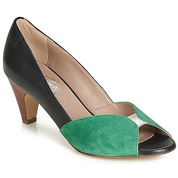 Pantofi Femei Pantofi cu toc Betty London JIKOTIZE Negru / Verde