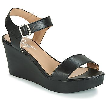 Pantofi Femei Sandale și Sandale cu talpă  joasă Betty London CHARLOTA Negru