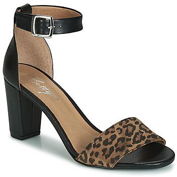 Pantofi Femei Sandale  Betty London CRETOLIA Negru